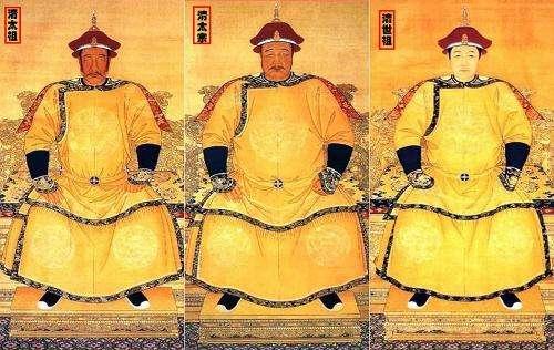 清朝皇帝列表及详细介绍