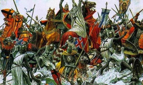打瑞典、败条顿的罗斯铁军,欢心投降蒙古西征军,暴压斯拉夫人!