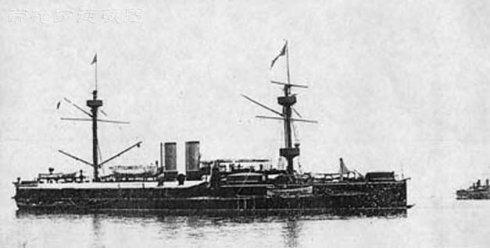 """揭秘:晚清""""定远""""号铁甲舰在世界上处于什么水平?"""