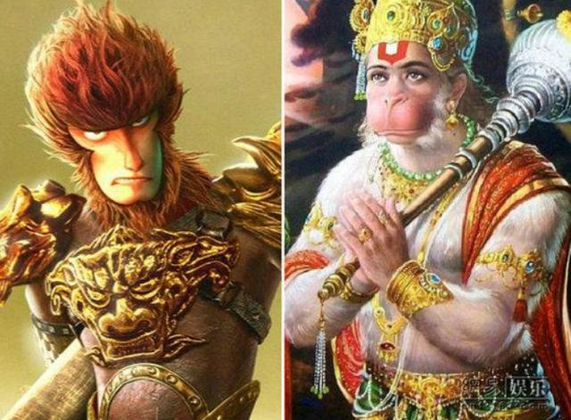 中国有神猴'孙悟空',印度也有个神猴'哈努曼',他俩谁更厉害