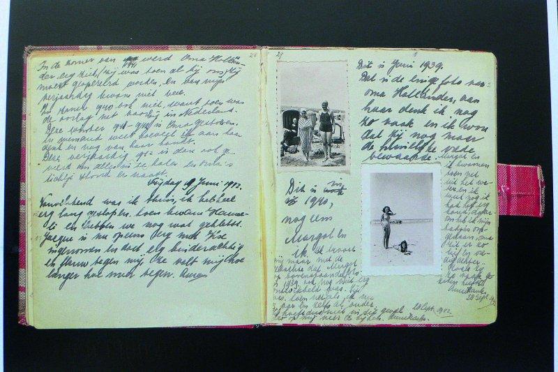 """""""我相信人们内心是善良的。""""安妮在日记上写着…后来她被人出卖并送往集中营"""